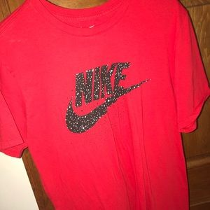Red Nike T Shirt Large